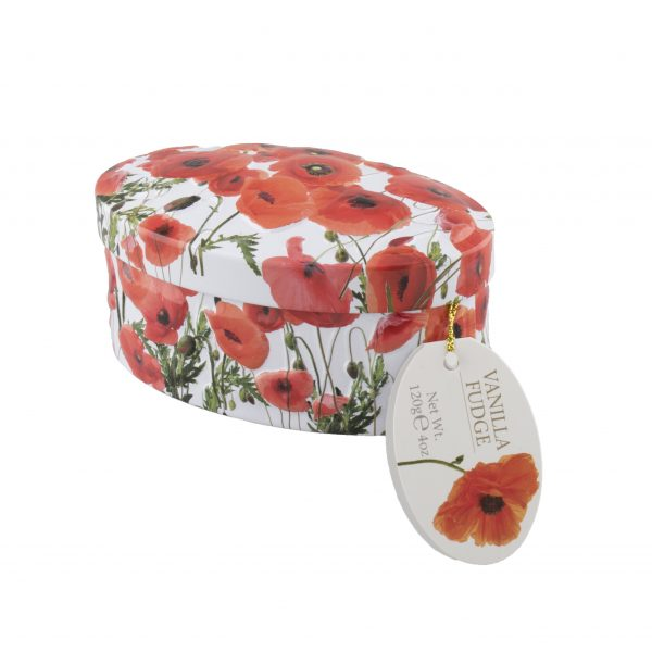 vanilla fudge poppy tin