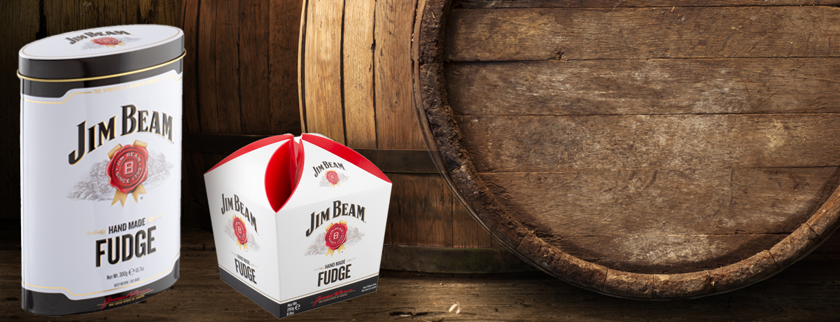 New JIM BEAM® Bourbon Whiskey Fudge