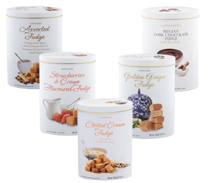 Luxury Fudge Tin Range