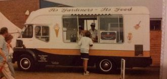Gardiners ice cream van 1980's