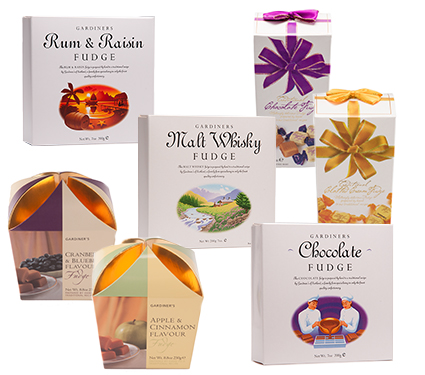 Luxury Fudge Carton Range