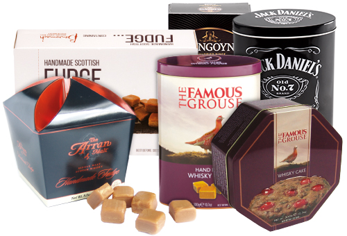 BRANDED WHISKY FUDGE RANGE